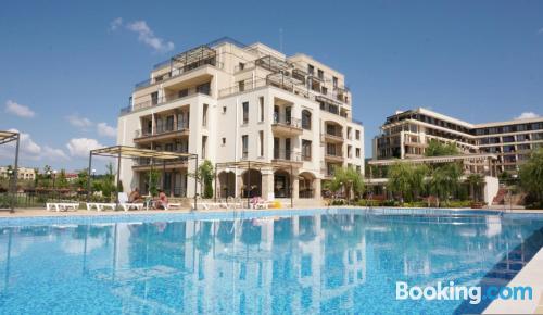 Apartamento con piscina en Sveti Vlas
