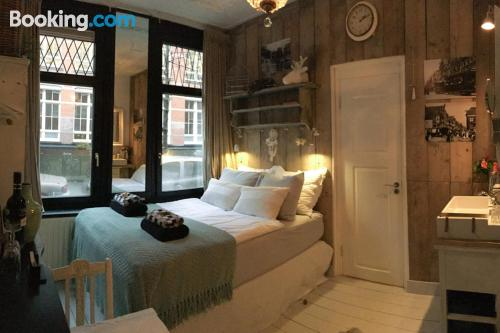 Place for 2 people. Amsterdam at your feet!