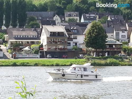 Pet friendly apartment in Zell an der Mosel. Family friendly