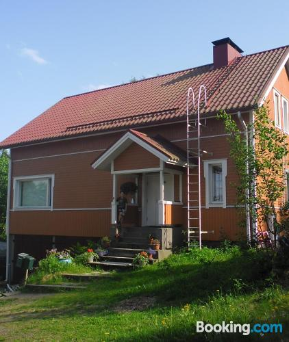 Stay in Mikkeli. Great for one person