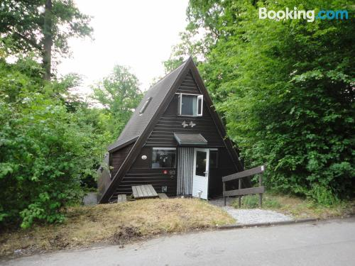 Terrace and wifi apartment in Durbuy. Swimming pool!