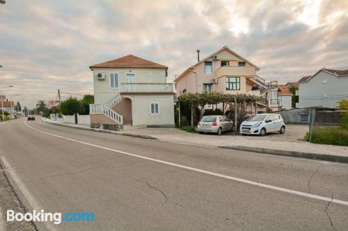 Ideal one bedroom apartment with terrace and wifi