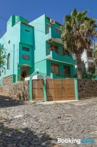 Apartment for 2 in Mindelo with internet and terrace