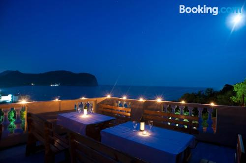 Place in Petrovac na Moru with terrace and wifi