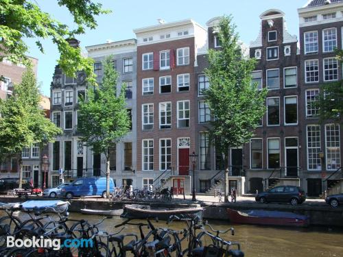 Comfortable apartment with two rooms in best location of Amsterdam