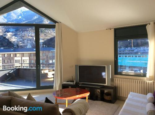 Spacious apartment in Andorra la Vella. Great!