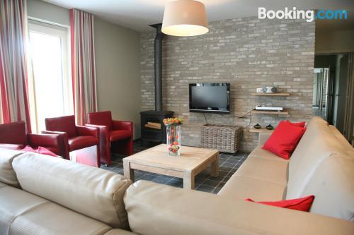 Apartment in Alveringem. Great for six or more