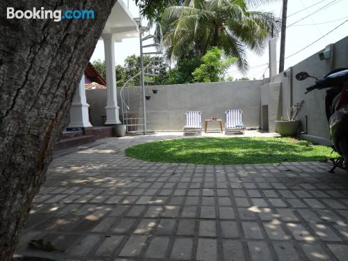 Terrace and internet apartment in Negombo. Air!
