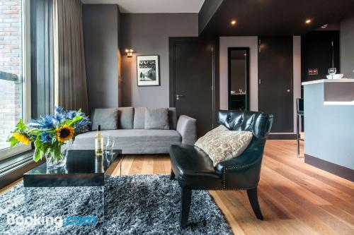 Place for couples in Amsterdam with internet
