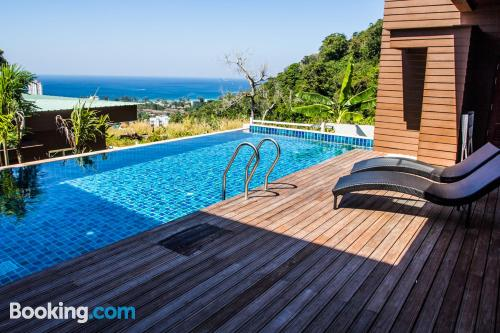 Place in Karon Beach with terrace