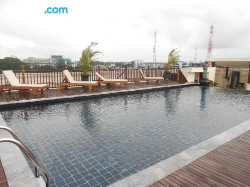Apartment in Vientiane with swimming pool.
