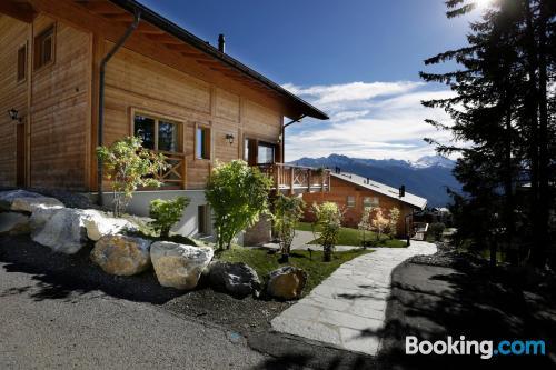 Grandioso apartamento en Crans-Montana con terraza