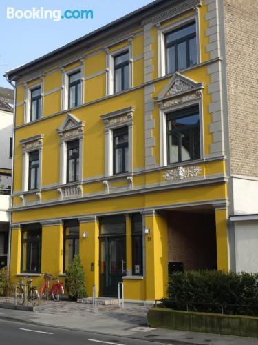 In Bonn with terrace