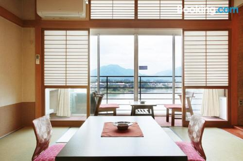 Dogs allowed apartment in Fujikawaguchiko with heat and internet