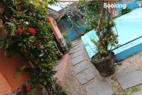 Ubatuba is yours! With terrace and swimming pool