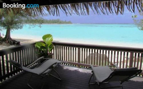 Home for couples in Rarotonga with terrace