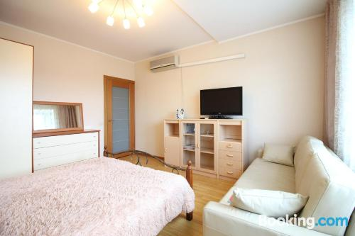 Home for 2 people in Moscow. Air!