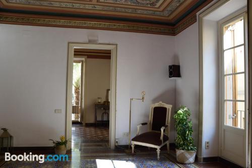 Cot available apartment in superb location of Vilanova i la Geltrú