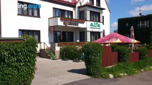 Apartamento apto para familias en Trutnov con vistas y wifi