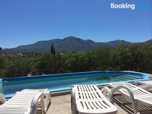 Apartamento en Capilla del Monte con piscina