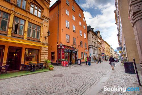 Comfy home in Stockholm in superb location