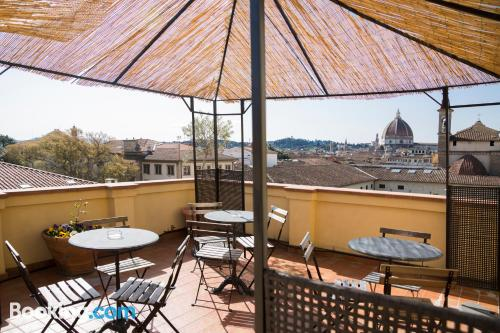 Place with terrace in incredible location