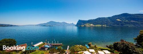 Pequeño apartamento en Lucerna con vistas