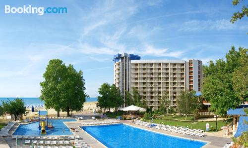Apartment for couples in Albena. Best location