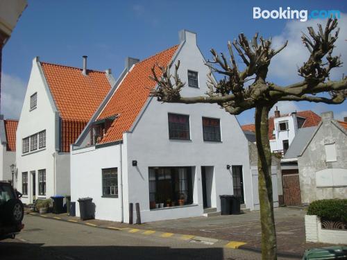 Gran apartamento en Zandvoort con calefacción y internet