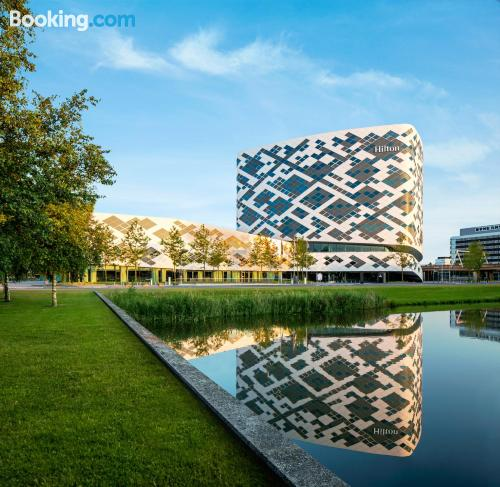 Kid friendly apartment in Schiphol for two