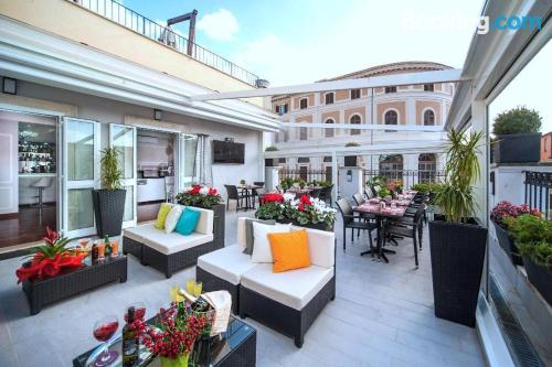 Apartment for couples in Rome with air