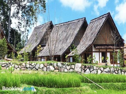 Apartamento pequeño de dos dormitorios en Lembang