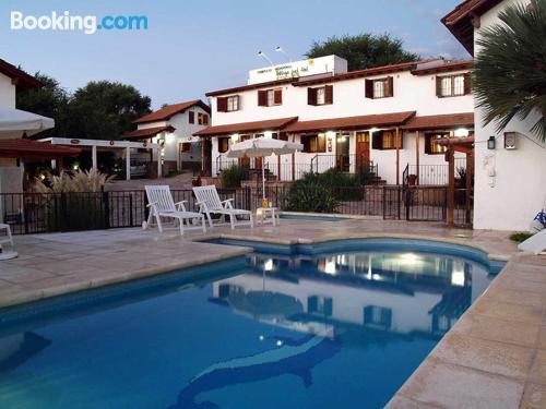 Apartamento con piscina en Villa Cura Brochero