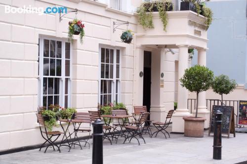 Apartamento con vistas y internet en Londres. ¡21m2!