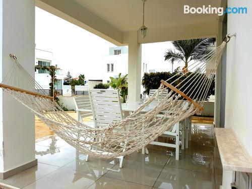 Swimming pool and wifi apartment in Perivolia. Air!.