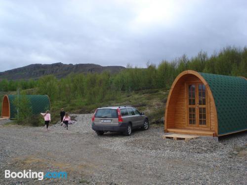 Home in Egilsstadir with heating