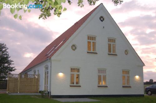 Terrace and wifi apartment in Gråsten. Sleeps couples