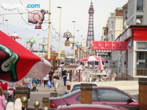 Apartment in Blackpool with internet