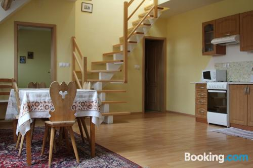 Two room place in Bratislava. Great!