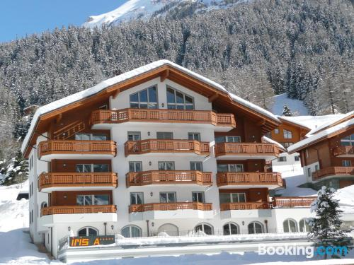 Leukerbad apartment with terrace