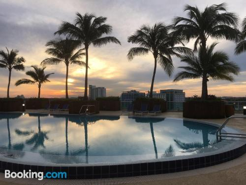 Home in Miami with terrace and swimming pool