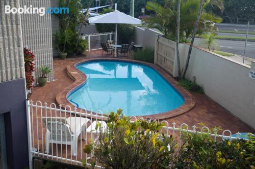 Apartamento con piscina en Alexandra