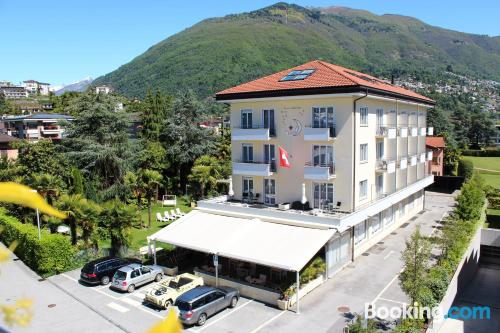 Place for couples in Ascona with terrace