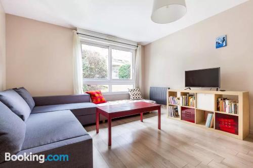 Two room apartment in Paris. Huge!
