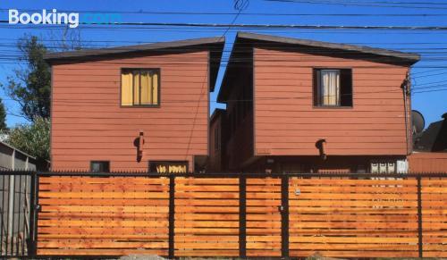Práctico apartamento parejas en Valdivia