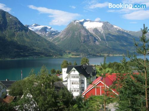 Acogedor apartamento en Hjelle con vistas
