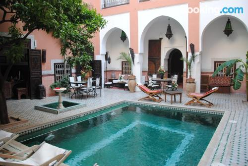 Home for two people in Marrakech. Great location