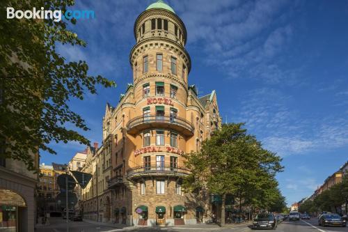 Apartamento bien situado ideal para familias en Estocolmo