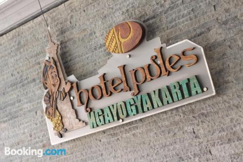 Place for two people in Yogyakarta with internet