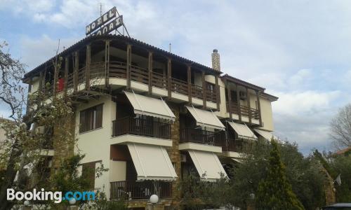 Apartamento con aire acondicionado, wifi y vistas
